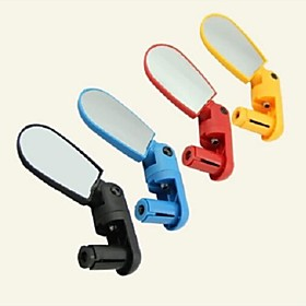 Rearview Mirror Bar End Bike Mirror Adjustable Waterproof 360°Rolling / Rotatable For Road Bike Mountain Bike MTB Cycling Bicycle ABS Yellow Red Blue