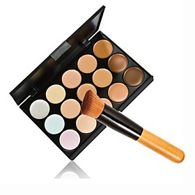 1PCS Cosmetic Makeup Face Powder Foundation Brush  15 Color Concealer