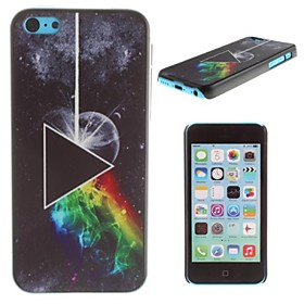 Pink Floyd - The Dark Side of the Moon Pattern PC Hard Case for iPhone 5C