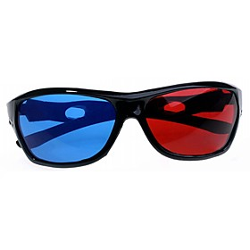 Split-screen Blue Red 3D Glasses for Computer 1732016