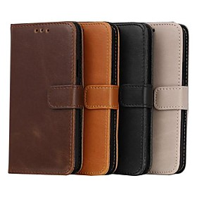 Crazy Horse Grain Leather TPU and PU Full Body Case with Card for Samsung Galaxy S5 Mini (Assorted Colors)