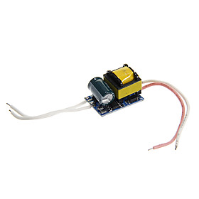 0.3A 4-5W DC 12-16V to AC 85-265V Internal Constant Current Power Supply Driver for LED Spot Lights