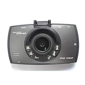 Dual Lens Camcorder with 6 infrared LEDs Lights Car DVR Dual Camera HD 1080P 170 Degree Lens Dash Cam Black Box