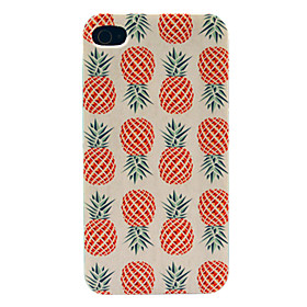 Pineapple Pattern Hard Case for iPhone 4/4S 1541802
