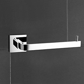"YALI.M,Toilet Paper Holder Chrome Wall Mounted 60 x 190 x 48mm (2.36 x 7.48 x 1.88"""") Brass Contemporary"" 87115"