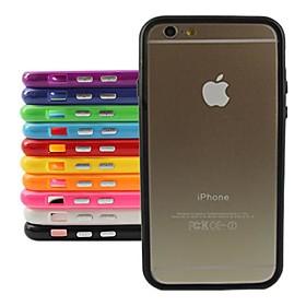 стильный бампер ТПУ Рамка для iPhone 6 Plus (разных цветов)