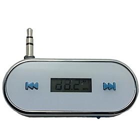 3,5 millimetri trasmettitore fm wireless in-car per il iphone 4 4s 5s 6 piu samsung galaxy s3 s4 s5