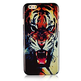 Tiger Head Pattern Hard Back Case for iPhone 6 2163550