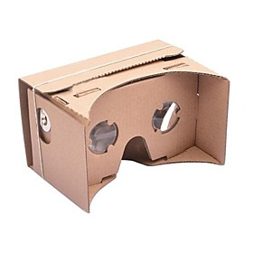 DIY Cardboard Virtual Reality 3D Glasses for iPhone 6 and Google Nexus 6 Samsung Mobile Phones 2087664