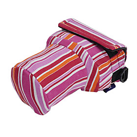 Siyoone A28-S Pink Strips Camera Bag For Canon700D 600D 650D /Nikon D7000D96