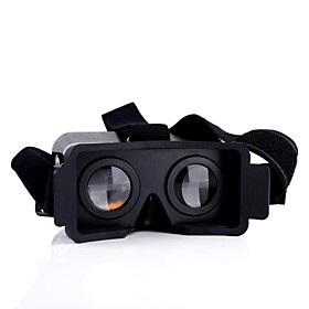 For iPhone 5 5s 5c Cardboard Head Mount Plastic Virtual Reality 3D Video Glasses 2632870