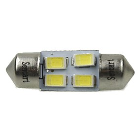 31mm Car Light Bulbs 2W SMD 5730 120-160lm 4 LED Interior Lights For universal