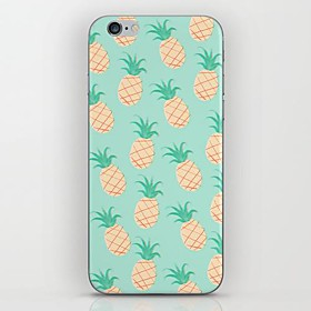 For iPhone 7 Plus Small Blue Pineapple Pattern hard Case for iPhone 6s 6 Plus 2089433