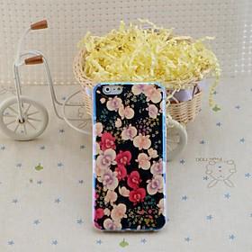 lureme weiseblumen blu ray Druck Silikon Tasche für iPhone 6 2212266