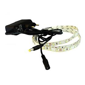 JIAWEN 1M 4W 60x3528SMD 3000-3200K Warm White LED Flexible Strip Light  1A Power (AC 110-240V) 2141654
