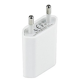Home Charger / Portable Charger USB Wall Charger Adapter EU Plug 1 USB Port 1 A for Mobile Cell Phone
