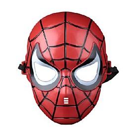 Kinder spider man Kunststoff Kostümfest Halloween Maske (zufällige Farbe) 2128279