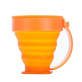 Plastics / Silicone Cup Orange Single outdoor 2067279