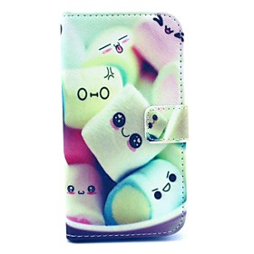 Cotton Candy Patterns Leather Full Body Case for Samsung Galaxy S3 I9300