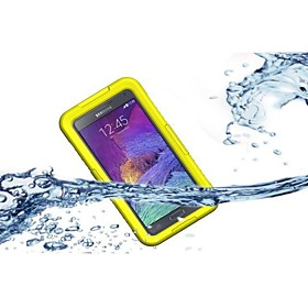 10M Waterproof Shockproof SnowProof DirtProof Durable Cover Hard Case for Samsung Galaxy Note4 (Assorted Color)