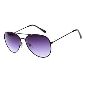 100% UV400 Aviator Metal Retro Sunglasses