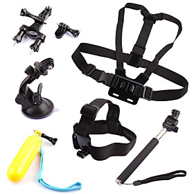 Accessories For GoPro,Chest Harness Front Mounting Monopod Suction Cup Straps Hand Grips/Finger Grooves Mount/Holder Floating, For-Action 1693920