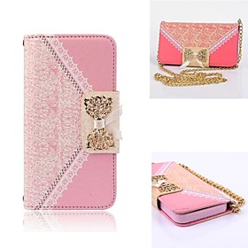 Elegant Design Cute Flip Wallet Leather Case for Full Body Case with Stand Samsung Galaxy S5 mini (Assorted Colors)