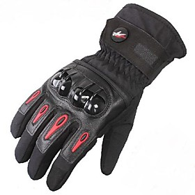 PRO-BIKER™ Winter Warm Windproof Waterproof Protective Full Finger Racing Bike Glove Motorcycle Gloves 2358700