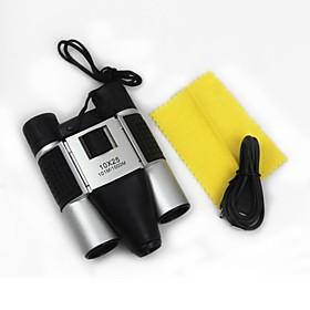 DT08 10x25 DVR Portable 3 in 1 Digital Binoculars with Hidden Camera Video Recorder Web CameraDVR Digital Binocular