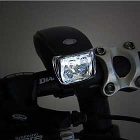WEST BIKING Super Bright 5 LED 3 Modes Bike Front Head Light Cycling Flashlight Lamp Bicycle Bike Cycling Light 2229913
