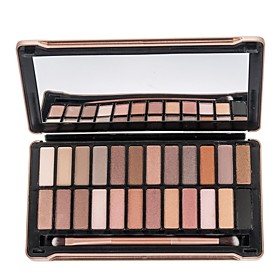 Women's Mute Pearly 24 Colors Eyeshadow Palette Makeup Cosmetic Earth Bare Color 2341955