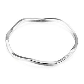 Mode Biegung dünnen Silberkupferbandringe (1 PC) 2295070