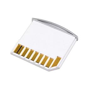 Take Offer micro sd tf til sd-kortet kit mini adapter for ekstra lagringsplass MacBook Air / pro / retina hvit Before Special Offer Ends