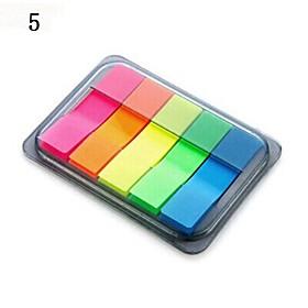 Self-Stick Notes Portable Notepaper Box(Random Color) 2370287