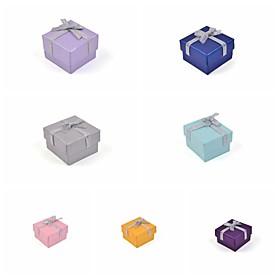 Ribbon Bow Paper Ring Box 2267809