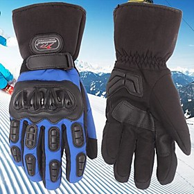 MADBIKE™ Winter Warm Windproof Waterproof Protective Full Finger Racing Bike Glove Motorcycle Gloves 2358698