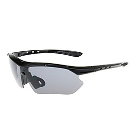 Cycling 100% UV400 PC Wrap Fashion Sports Glasses