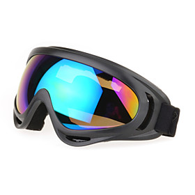 Hunting 100% UV400 Mixed Materials Wrap Fashion Sports Goggles