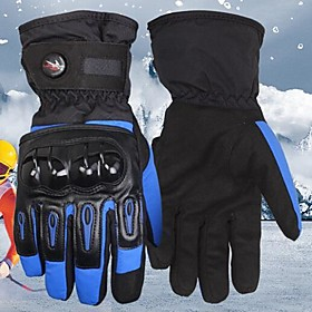 PRO-BIKER™ Winter Warm Windproof Waterproof Protective Full Finger Racing Bike Glove Motorcycle Gloves 2358700
