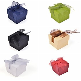 Lace Bow Paper Ring Box 2267810