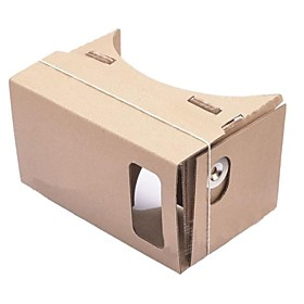 DIY Cardboard Virtual Reality 3D Glasses for iPhone 5S/ Samsung Galaxy S4 mini / S3 mini / Nokia / LG / MOTO 2227960