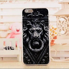 Three-Dimensional   Pattern  PC  Soft Cover for iPhone 6 deal 2016