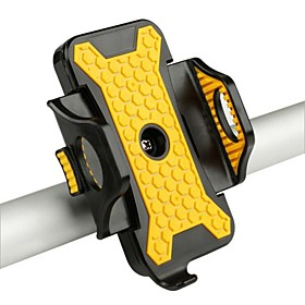 Bike Phone Mount Anti Shake Stable Safety for Road Bike Mountain Bike MTB BMX Steel Stainless Synthetic ABS iPhone X iPhone XS iPhone XR Cycling Bicycle Yellow