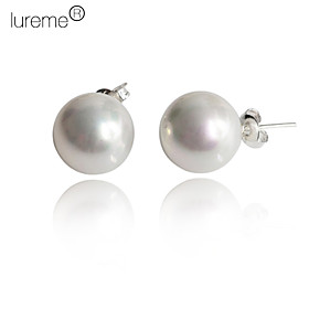 Women's Stud Earrings - Pearl, Sterling Silver, Imitation Pearl White / Black / Pink For Daily / Shell / Pink Pearl / Black Pearl