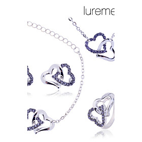 Crystal Jewelry Set - Crystal, Imitation Diamond Heart, Love Luxury Include 2 / 3 / 4 For Party Birthday Engagement / Rings / Earrings / Necklace / Bracelets