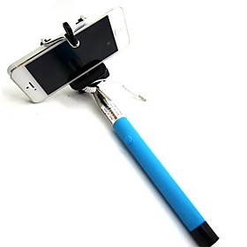 Selfie Stick Bluetooth, Extendable Monopod Built-in Bluetooth Remote Shutter Compatible with iPhone XS/XS max/XR/X/8/8P/7/7P/6s/6/5,Galaxy S9/8/7/6/Note,Nubia,