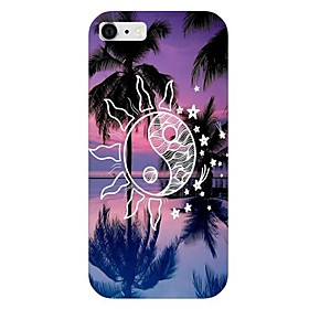 Sun Coconut Tree Pattern Back Case for iPhone 6 2404431