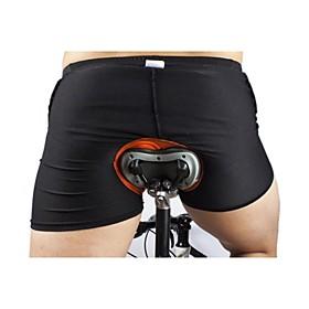 WOSAWE Cycling Under Shorts Men's Women's Bike Shorts Underwear Shorts Padded Shorts/Chamois Bottoms Bike Wear Quick Dry Lightweight 2402265