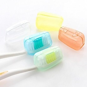 Travel Travel Toothbrush Container/Protector / Inflated Mat Toiletries Antibacterial Plastic 2536937