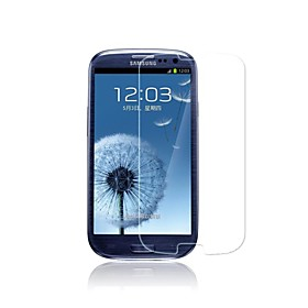 Premium Tempered Glass Screen Protector for Samsung Galaxy S3/ I9300 (Transparent)